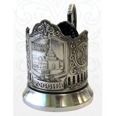 Подстаканник черненый Казанский вокзал (Герб РФ)