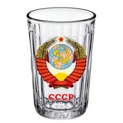 Стакан граненый Герб СССР