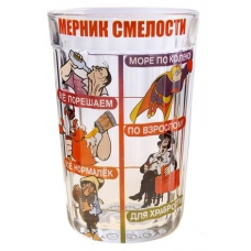 """Стакан граненый """"Мерник Смелости"""""""""""