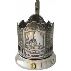 Подстаканник черненый Ярославль Храм (лазер)