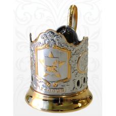 Подстаканник позолота Смоленск